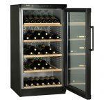 Découvrez Haier JC-298GA refroidisseur à vin Autonome Noir 120 bouteille(s) Refroidisseur de vin compresseur A - Cave à vin (Autonome, Noir, Gris, 5 étagères, 1 portes(s), Acier inoxydable)