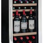 La Sommeliere LS38A Cave à Vin de mise à température - 38 bouteilles - Système de préservation de vin intégré - 3 bouteilles ouvertes - Faible encombrement Classe: A : tests et avis