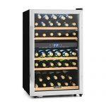 Klarstein Vinamour 40D • Cave à vin • 135L • 2 zones de refroidissement • Commande tactile • Ecran LCD • 41 bouteilles • noir/argent : ce qu'il faut apprendre.