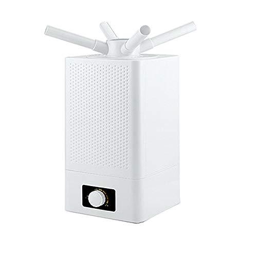 Consultez Humidifier Industriel à Ultrasons PulvéRisateur Double CœUr RéGlable à 360 Commercial Polyvalent Au Sol