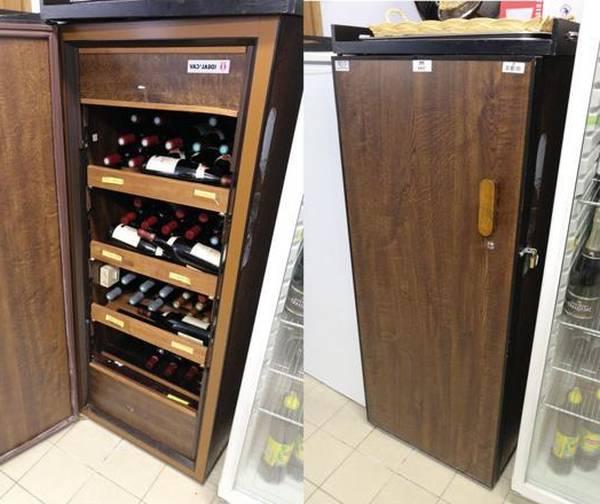 cave de conservation vin
