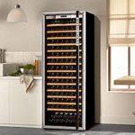 Guide: Cave a vin 120 bouteilles vins en ligne - pas cher - métal