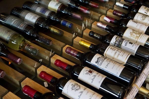 range bouteilles vin